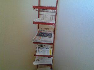 Распространение (развозка) газет по стойкам